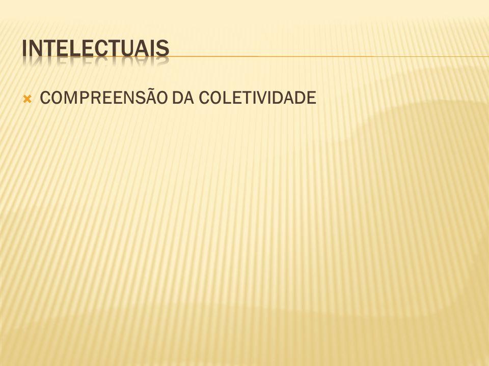  COMPREENSÃO DA COLETIVIDADE