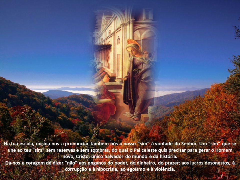 Em ti brilha a dignidade de cada ser humano, que é sempre precioso aos olhos do Criador.