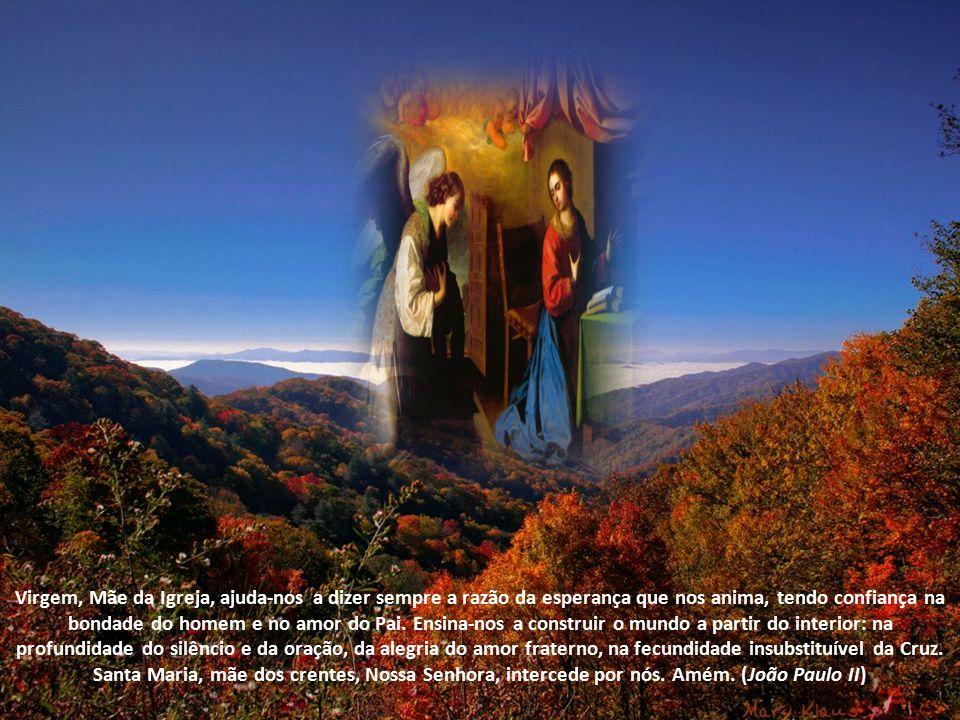 Ave Maria, Mulher da dor, Mãe dos viventes.