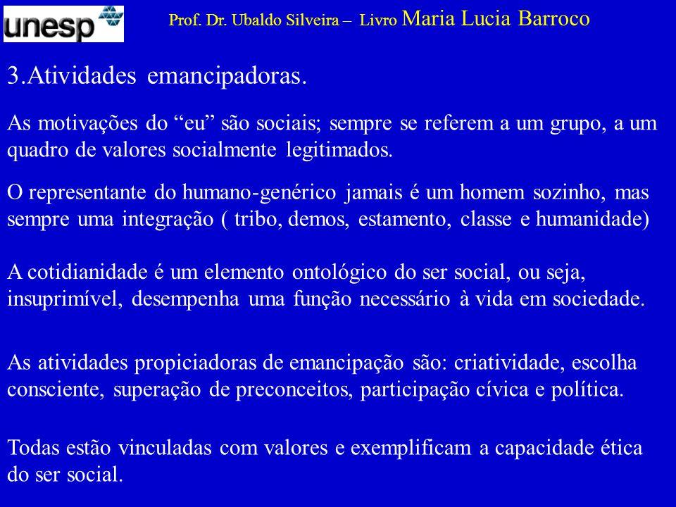 3.Atividades emancipadoras.Prof. Dr.