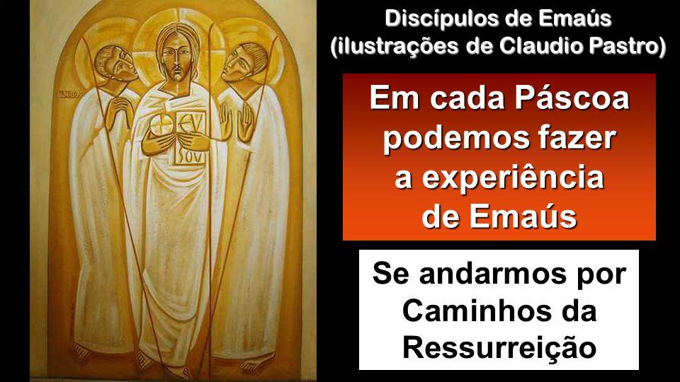 Lc 24, 35-48 Naquele tempo, os discípulos de Emaús contaram o que tinha acontecido no caminho e como tinham reconhecido Jesus ao partir do pão.