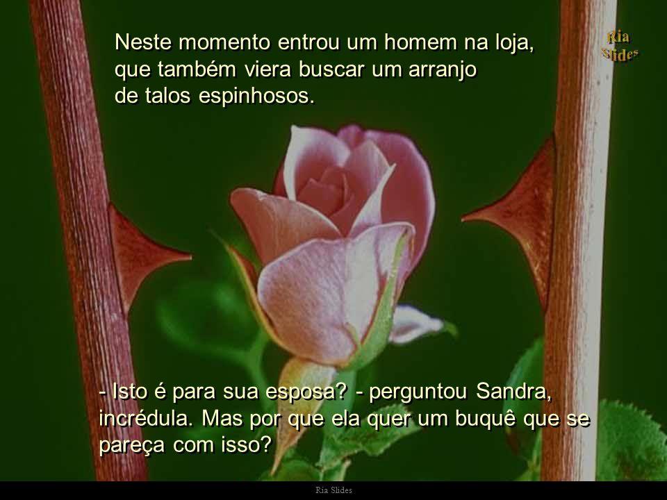 Ria Slides Sandra lembrou do que sua amiga tinha lhe dito, e ponderou: - Perdi meu bebê e eu estou zangada com Deus...