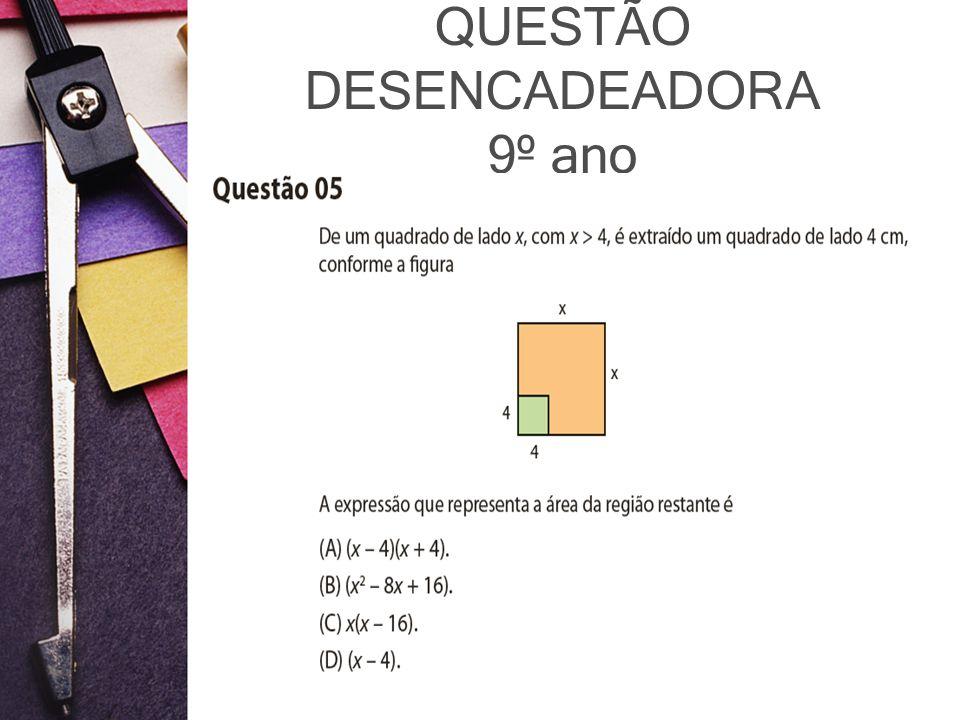 QUESTÃO DESENCADEADORA 9º ano