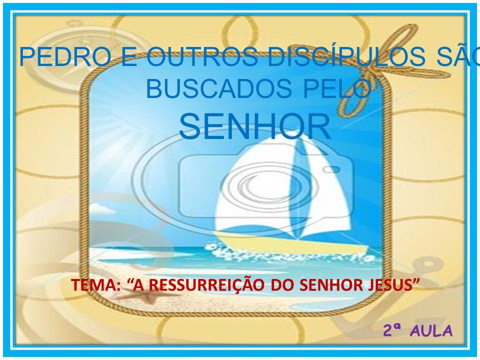 Depois manifestou-se Jesus outra vez aos discípulos junto do mar de Tiberíades; e manifestou-se assim:... João 21:1-17