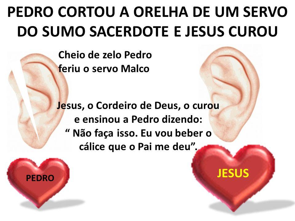 PEDRO NEGA A JESUS PEDRO -Esse é discípulo de Jesus.