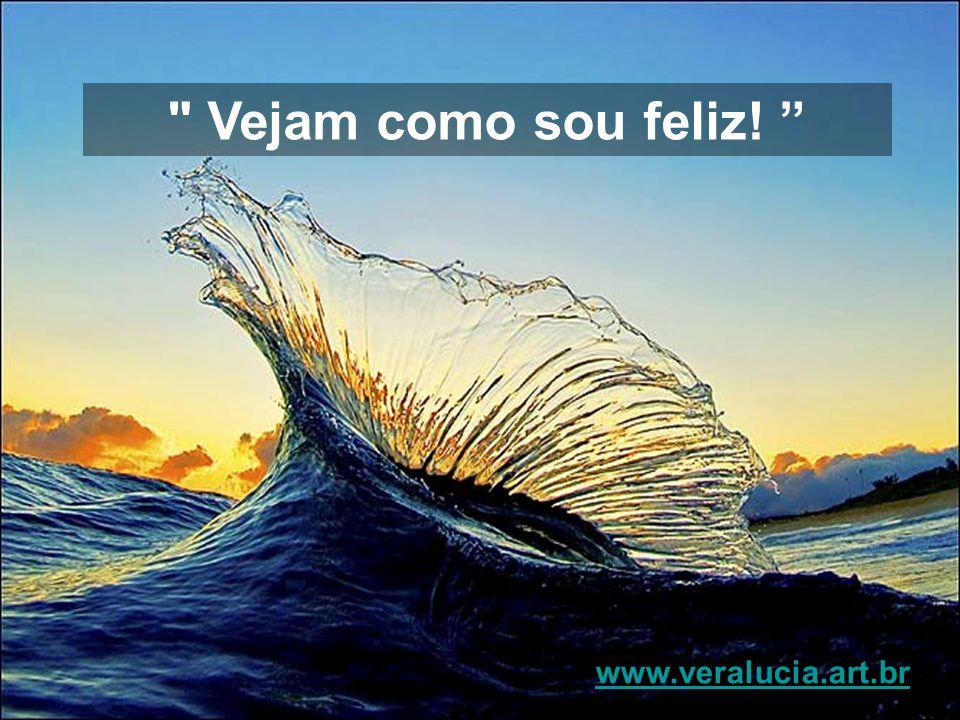 Vejam como sou feliz! www.veralucia.art.br