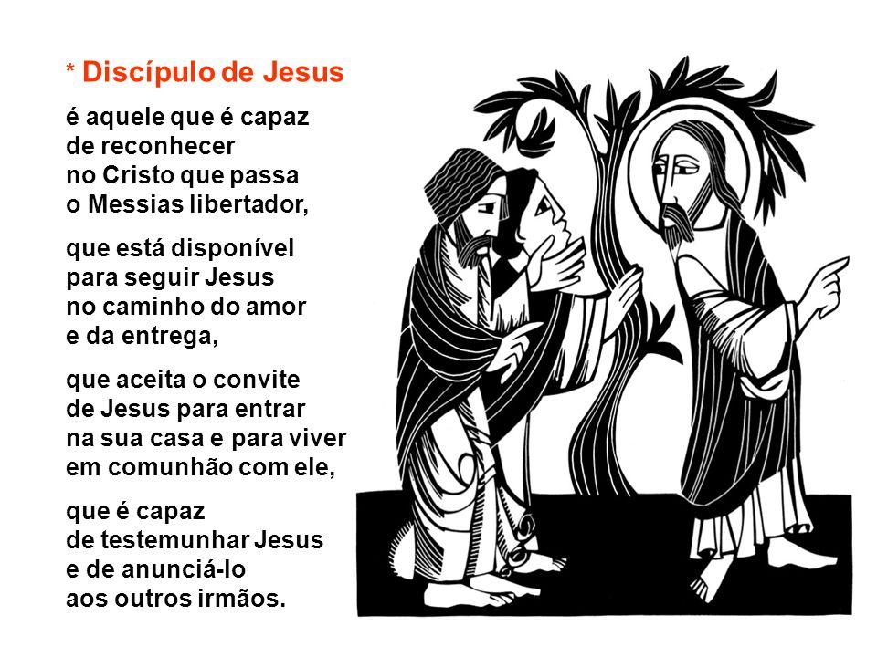 - Vinde e Vede Para criar intimidade com Jesus, são convidados: Vinde e vede .