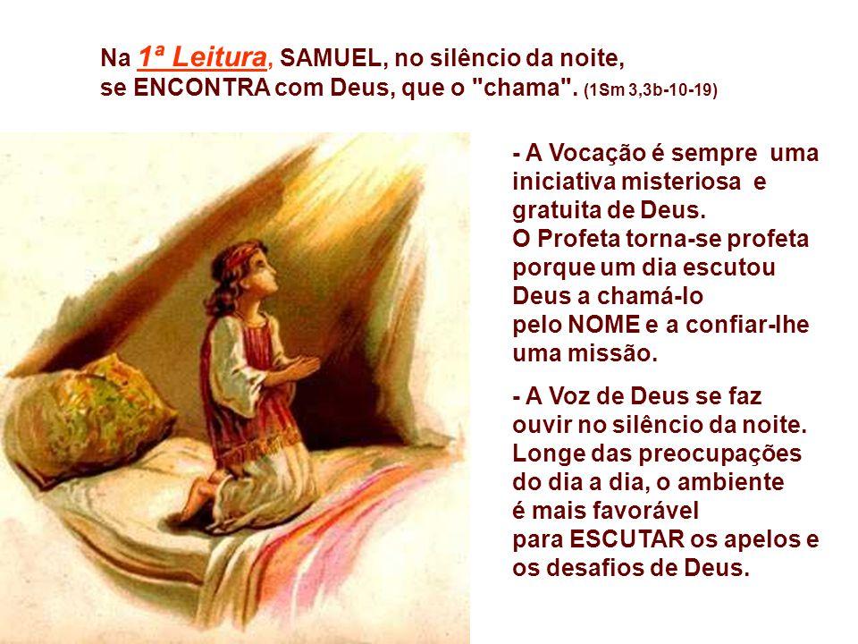 Após as festas natalinas, iniciamos os domingos do Tempo Comum, apresentando nas leituras do Evangelho, o início da vida pública de Jesus e os primeir
