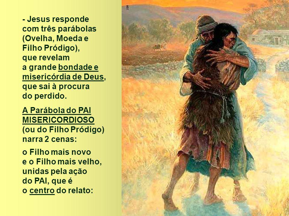 No Evangelho, o PAI se reconciliou com o filho e convidou os filhos se reconciliarem entre eles.