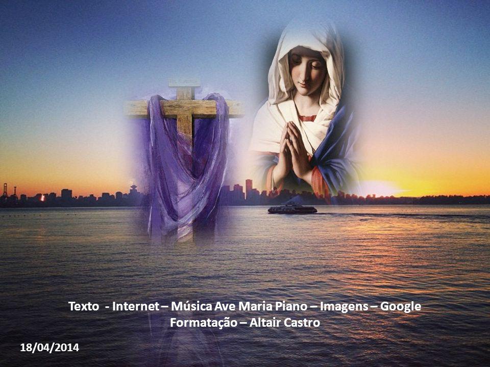"""Maria, dando um último adeus ao Filho e à sepultura, volta para casa"""" (Santo Afonso). """"Voltou tão triste a aflita e pobre Mãe, que todos a viam, dela"""