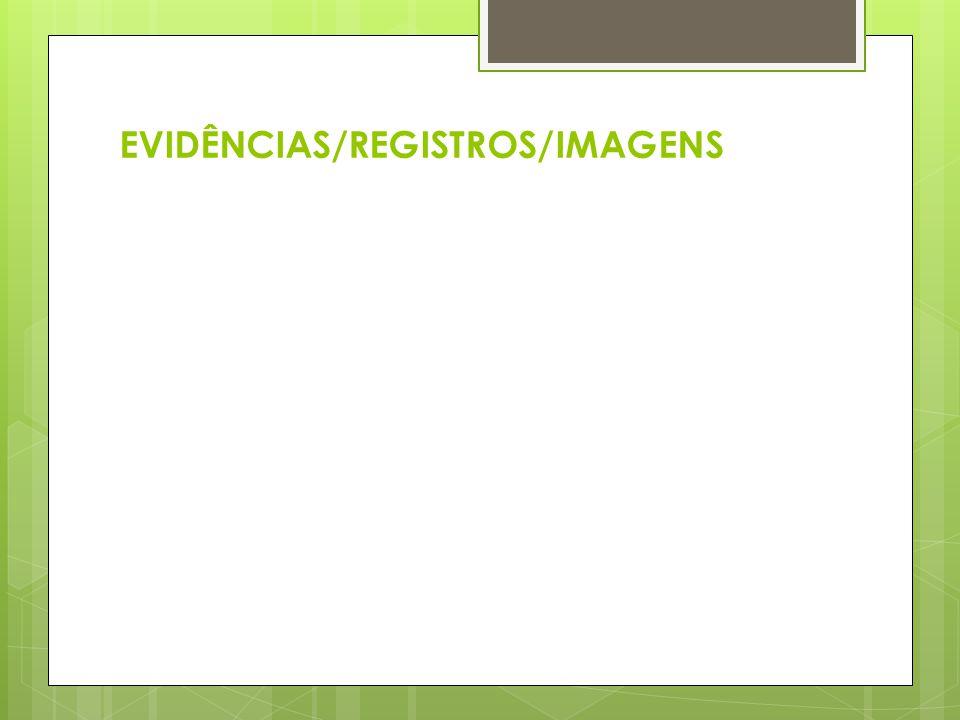 EVIDÊNCIAS/REGISTROS/IMAGENS