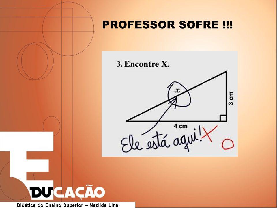 PROFESSOR SOFRE !!!