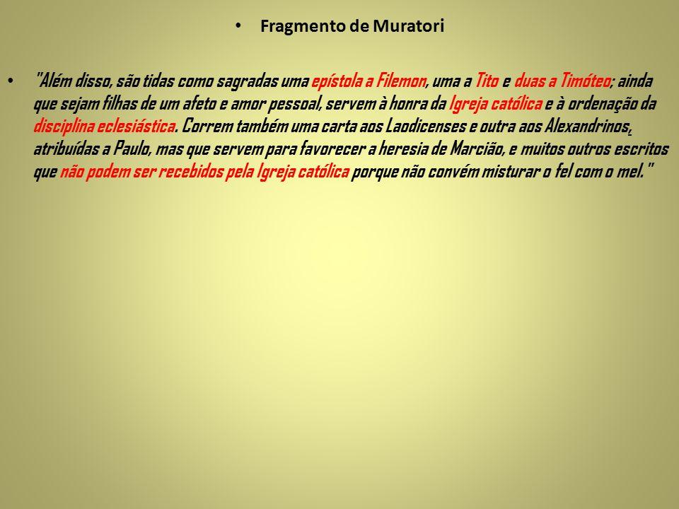 Fragmento de Muratori