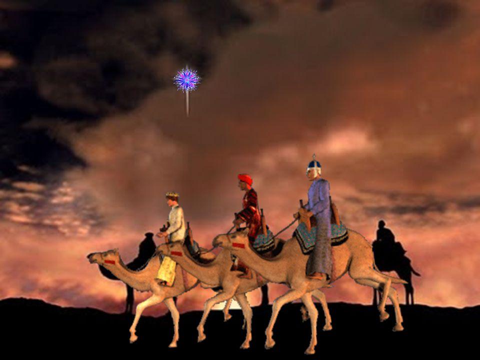 ATUALIZANDO Os Magos representam os homens de todo o mundo que vão ao encontro de Cristo e que se prostram diante d'Ele.