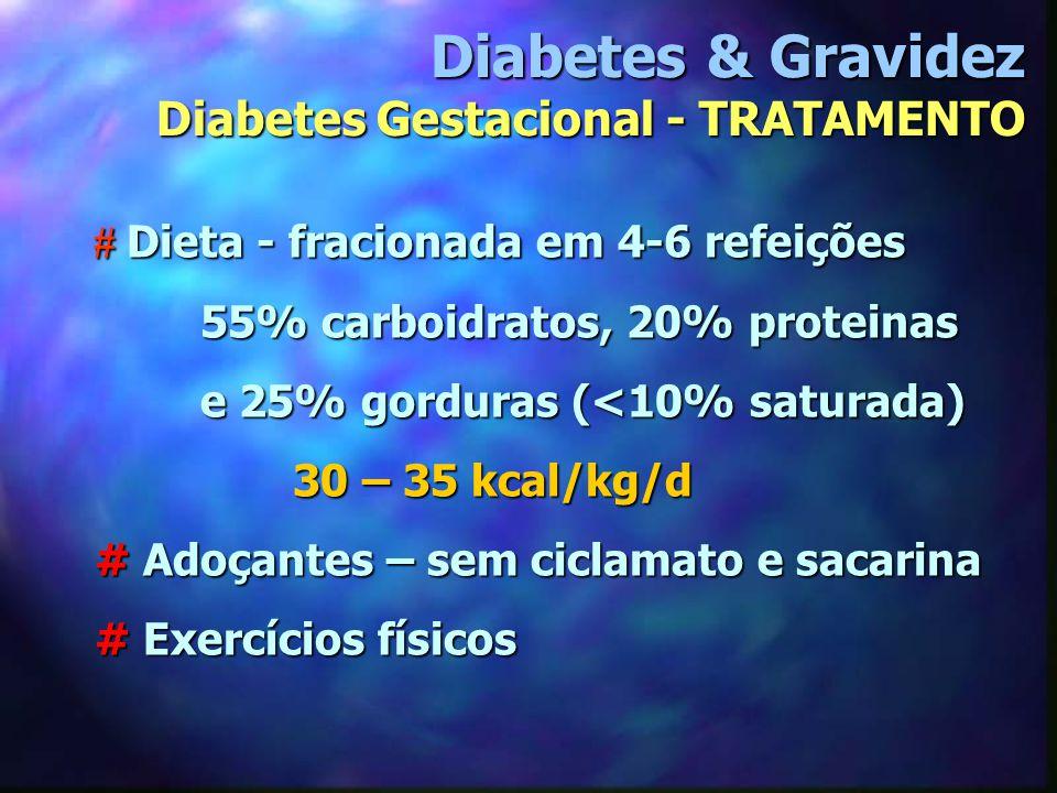 # Dieta - fracionada em 4-6 refeições # Dieta - fracionada em 4-6 refeições 55% carboidratos, 20% proteinas 55% carboidratos, 20% proteinas e 25% gord