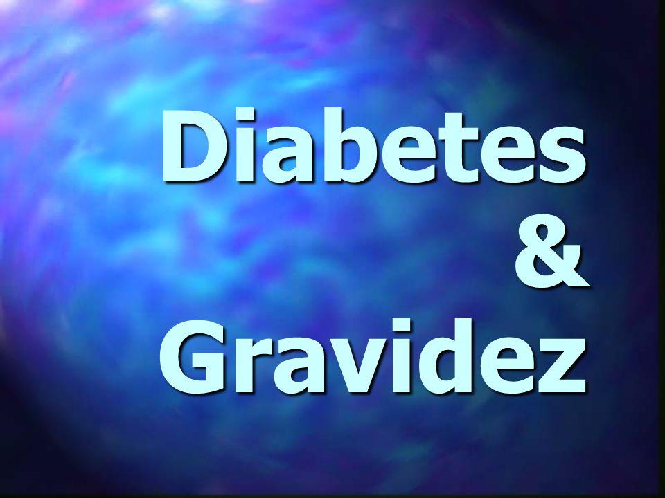 # Dieta - fracionada em 4-6 refeições # Dieta - fracionada em 4-6 refeições 55% carboidratos, 20% proteinas 55% carboidratos, 20% proteinas e 25% gorduras (<10% saturada) e 25% gorduras (<10% saturada) 30 – 35 kcal/kg/d # Adoçantes – sem ciclamato e sacarina # Adoçantes – sem ciclamato e sacarina # Exercícios físicos # Exercícios físicos Diabetes & Gravidez Diabetes Gestacional - TRATAMENTO