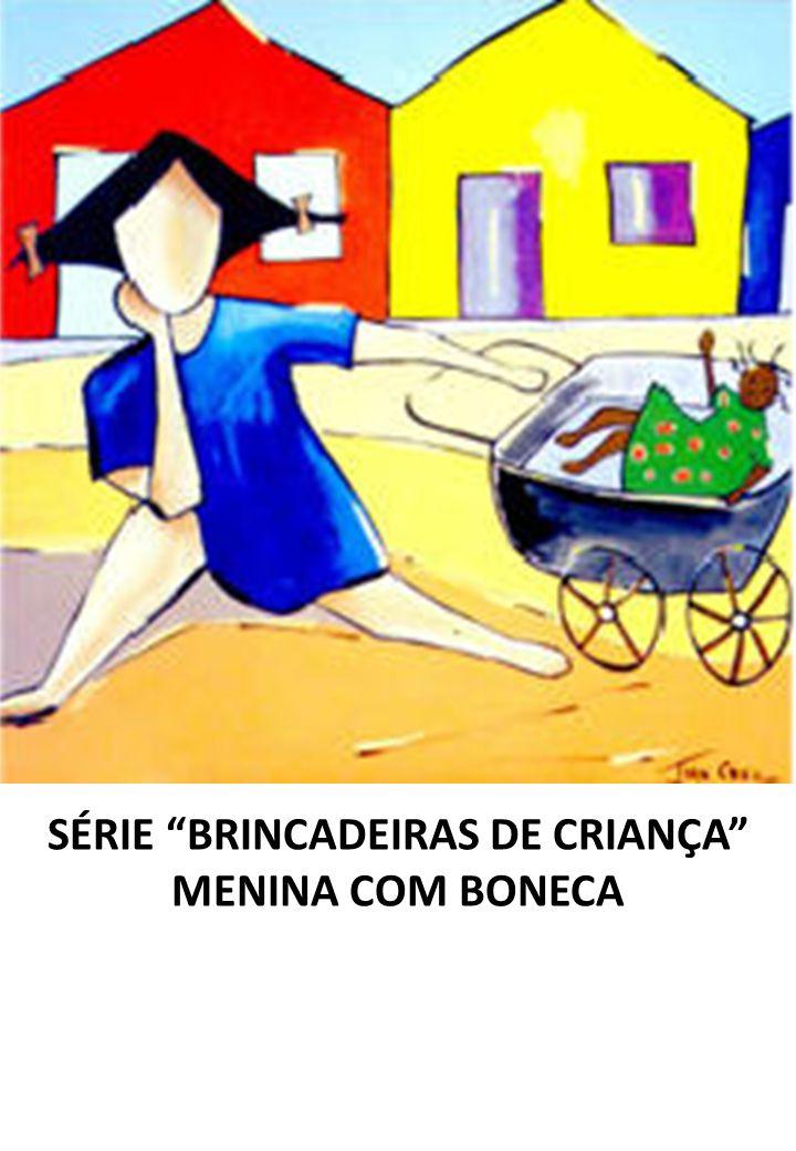 SÉRIE BRINCADEIRAS DE CRIANÇA MENINA COM BONECA