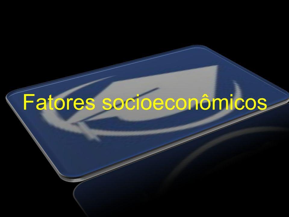 Fatores socioeconômicos