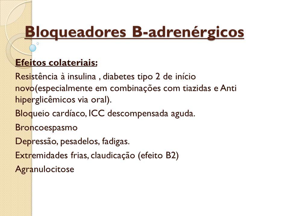 Bloqueadores B-adrenérgicos Atenolol é o principio ativo.