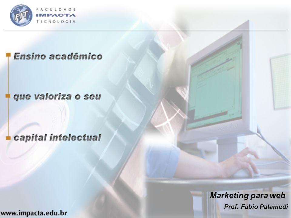 Marketing para web Prof. Fabio Palamedi