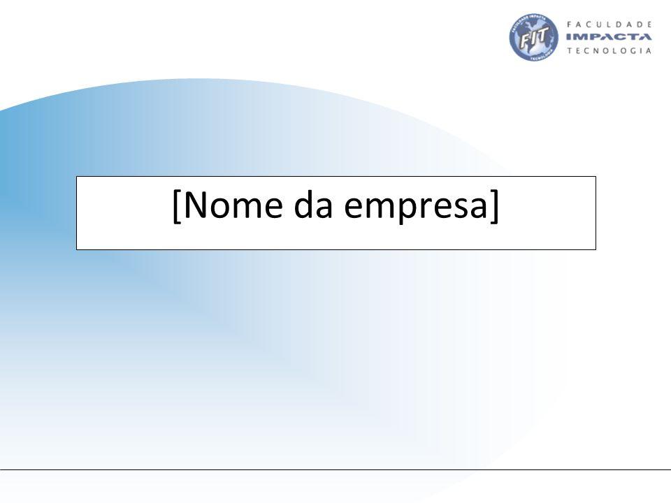 [Nome da empresa]