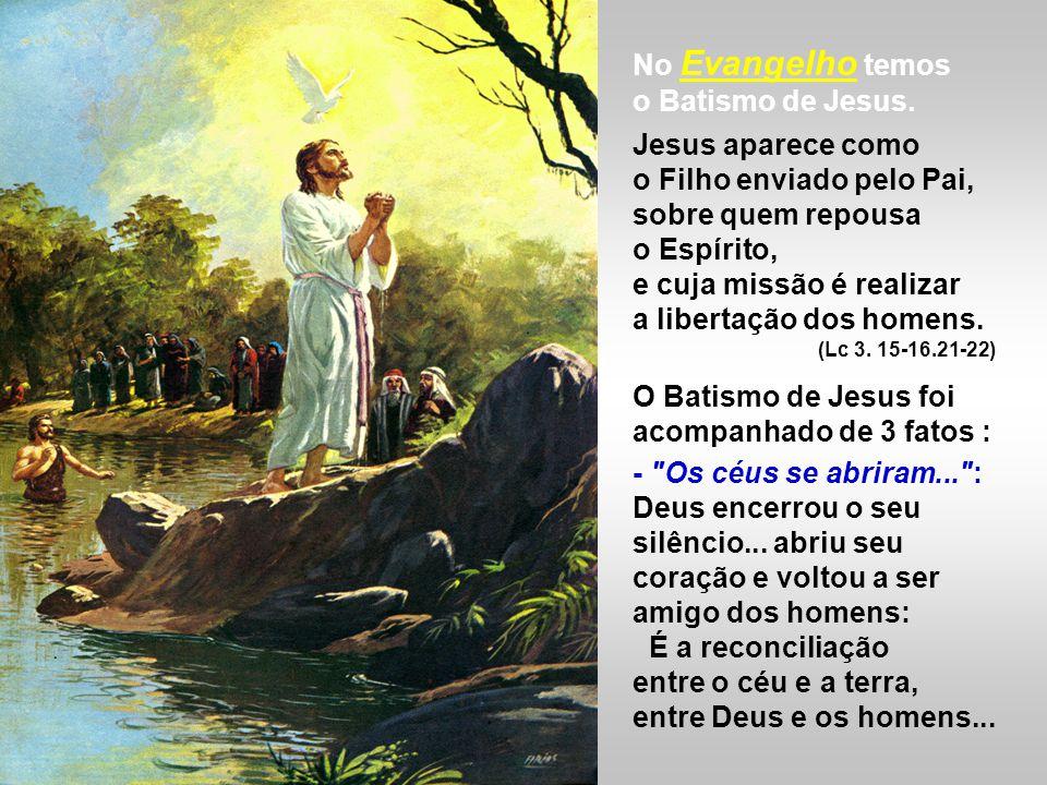 A 2ª Leitura narra o Batismo de Cornélio. (At 10, 34-38) Pedro dá seu testemunho e catequese na casa de Cornélio e no final batiza toda a sua família.