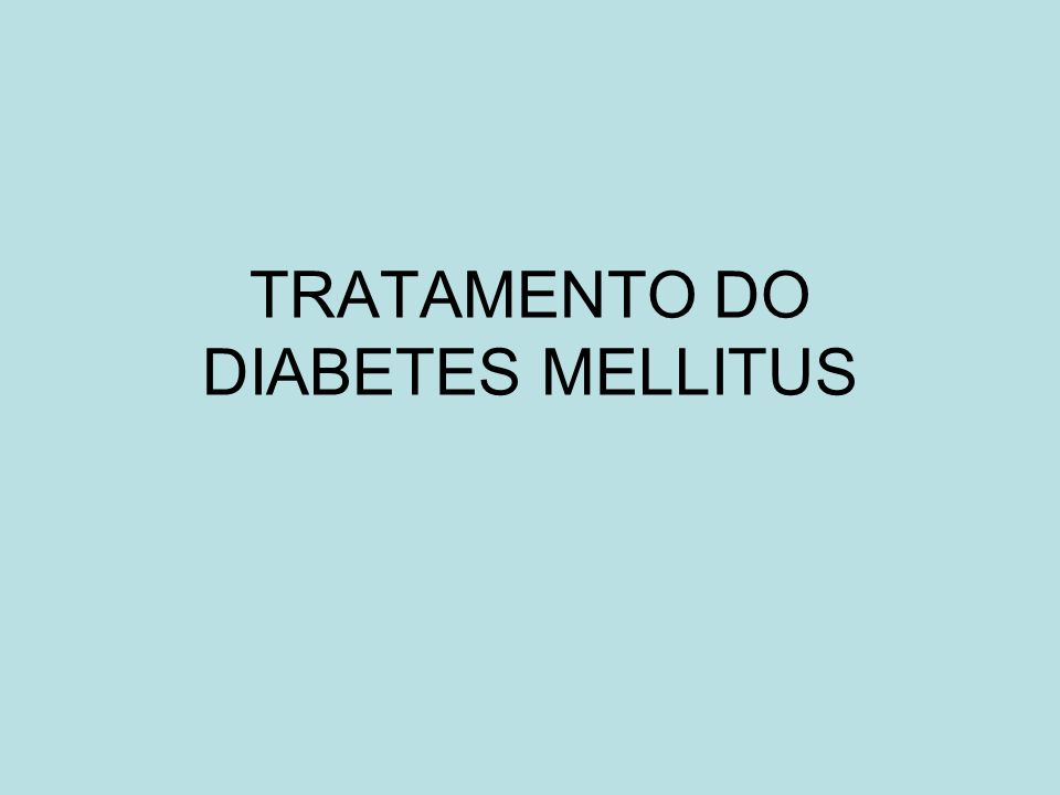 DCCT D iabetes C ontrol C omplications T rial