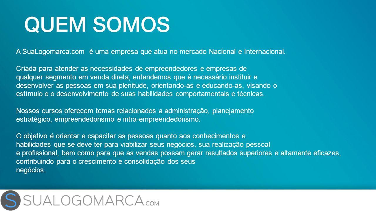 A SuaLogomarca.com é uma empresa que atua no mercado Nacional e Internacional. Criada para atender as necessidades de empreendedores e empresas de qua