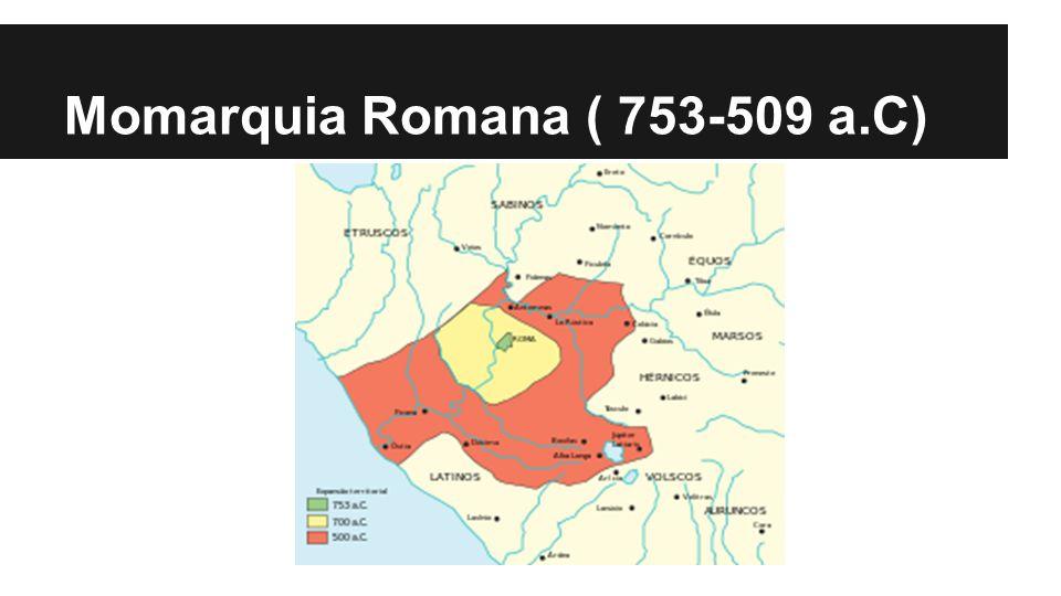 Momarquia Romana ( 753-509 a.C)