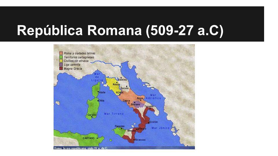 República Romana (509-27 a.C)
