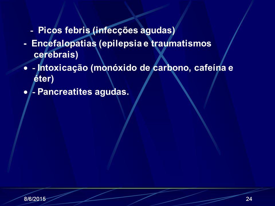 8/6/2015prof. Valdemir Miranda23 - Distúrbios digestórios e alimentares (desnutrição, bulimia); - Erros na terapia de insulina;  - Distrofia muscular