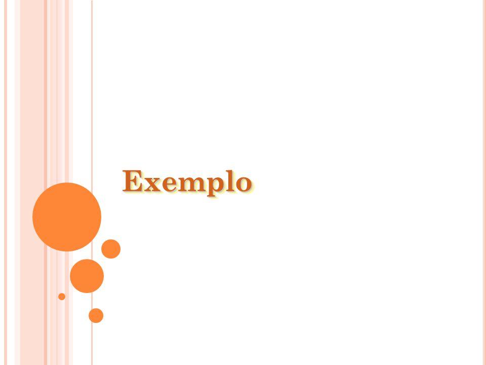 ExemploExemplo