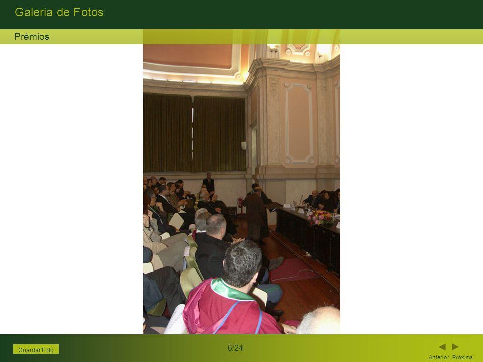 Galeria de Fotos Anterior Próxima 6/24 Guardar Foto Prémios