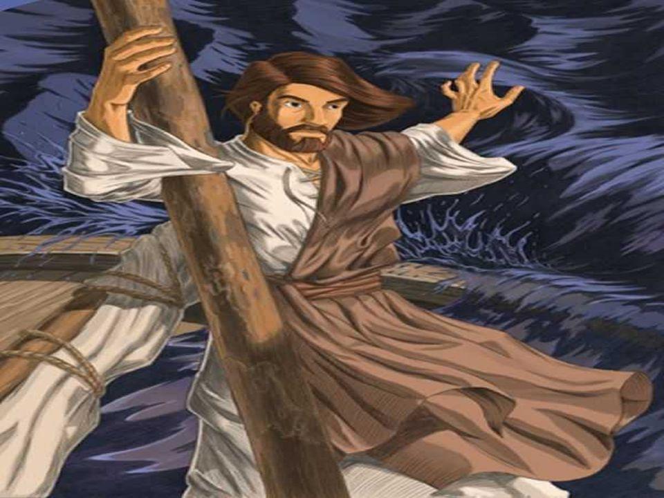 Na Bíblia, aparece que só Deus tem o poder de dominar as ondas do mar.