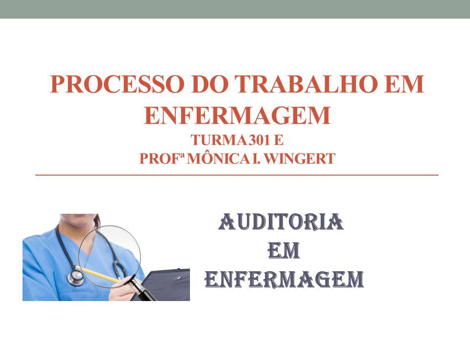 Enfermagem Processo de Trabalho Processo do Trabalho em
