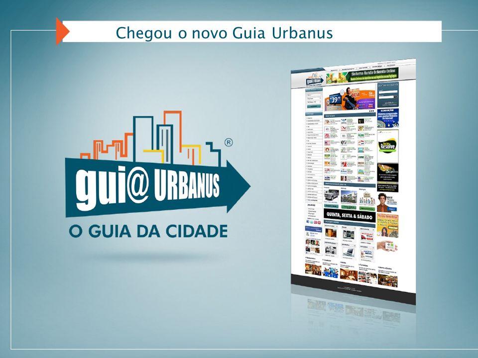Chegou o novo Guia Urbanus