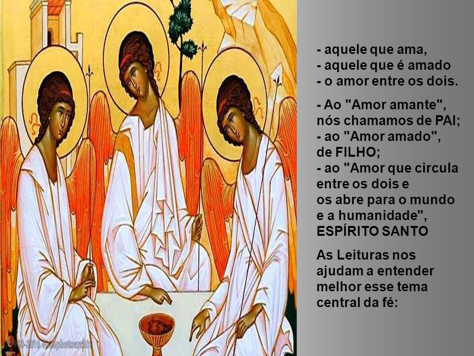 O que é então a Trindade.A Santíssima Trindade é o Mistério de um só Deus em três pessoas.