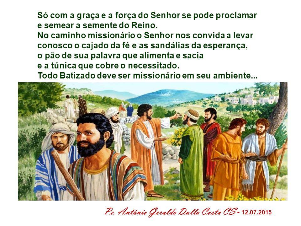 O que significa para nós, hoje: Vai profetizar o meu povo, Vai evangelizar o meu povo .