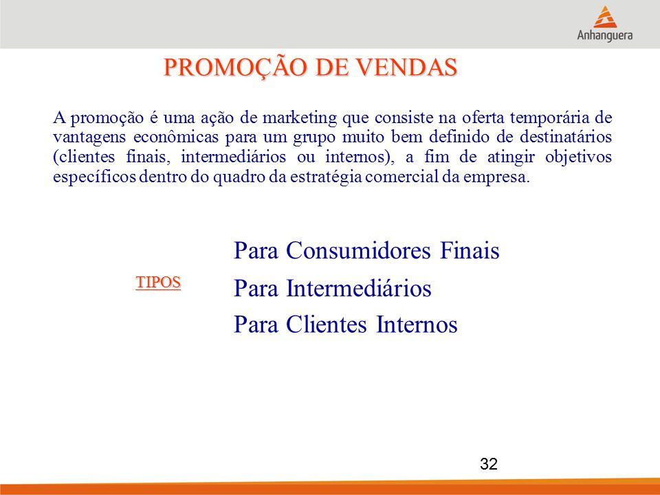 PROMOÇÃO DE VENDAS A promoção é uma ação de marketing que consiste na oferta temporária de vantagens econômicas para um grupo muito bem definido de de
