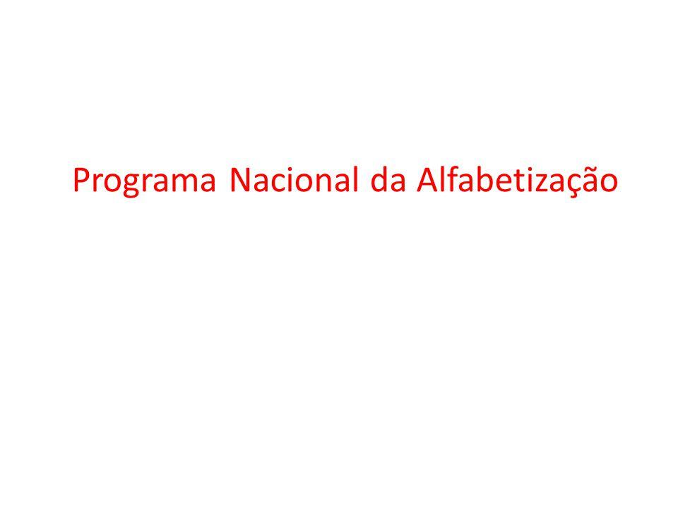 Programa Nacional da Alfabetização