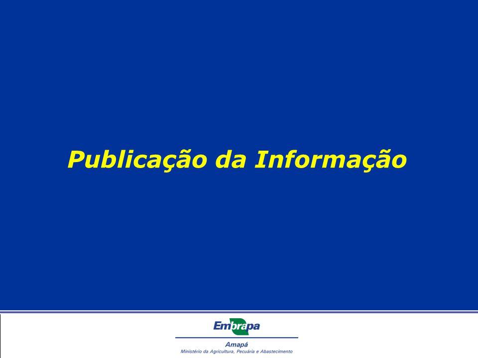 Publicação da Informação