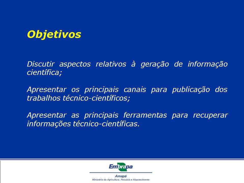Recuperação da Informação Prossiga Missão Contribuir para a implementação das diretrizes e prioridades ditadas pelo IBICT, por meio do oferecimento de serviços de informação e de comunicação na Internet, tendo como público alvo, gestores, pesquisadores, docentes, técnicos e empresários do setor produtivo.