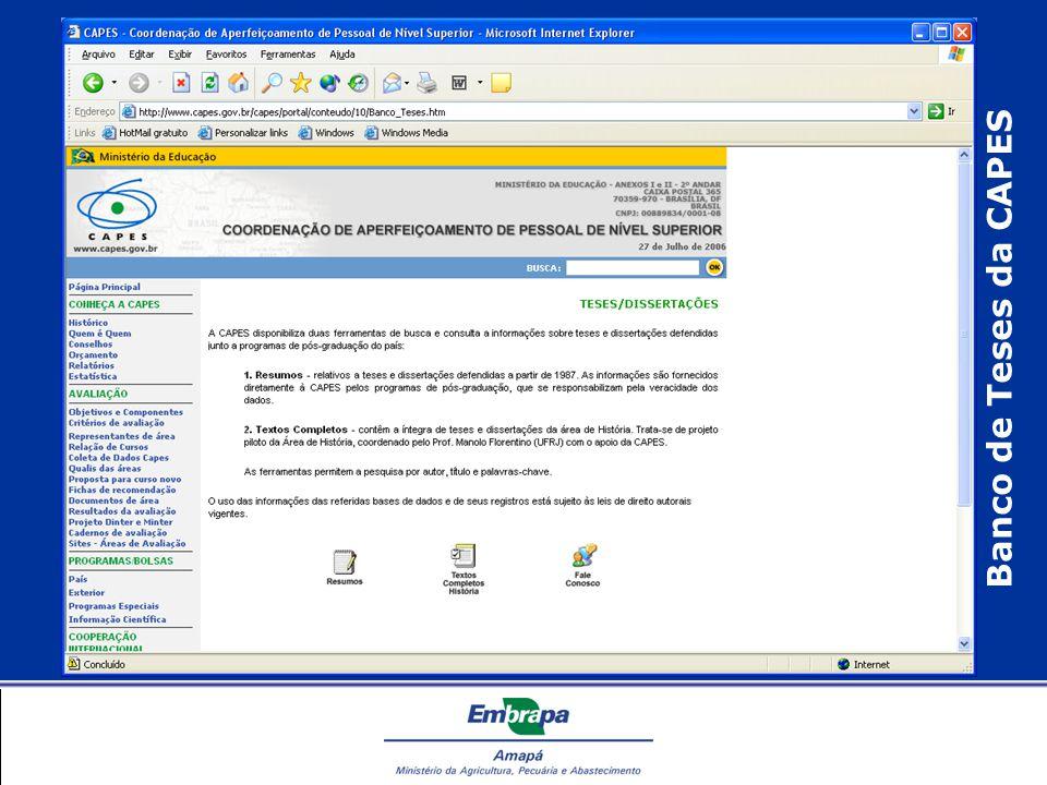 Banco de Teses da CAPES