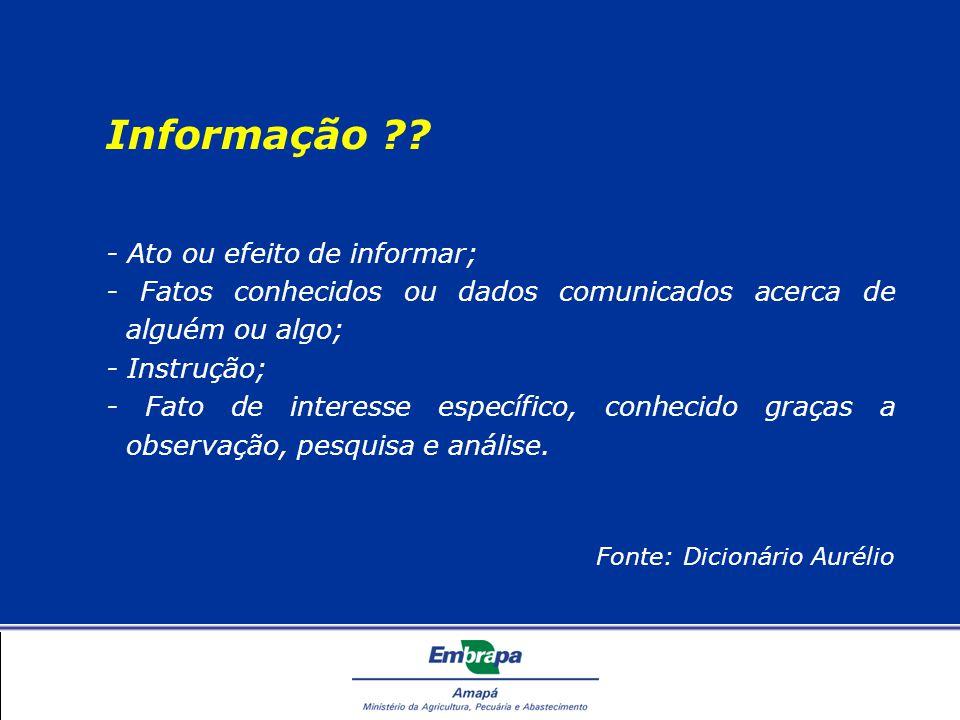 Recuperação da Informação Para que serve o Diretório.
