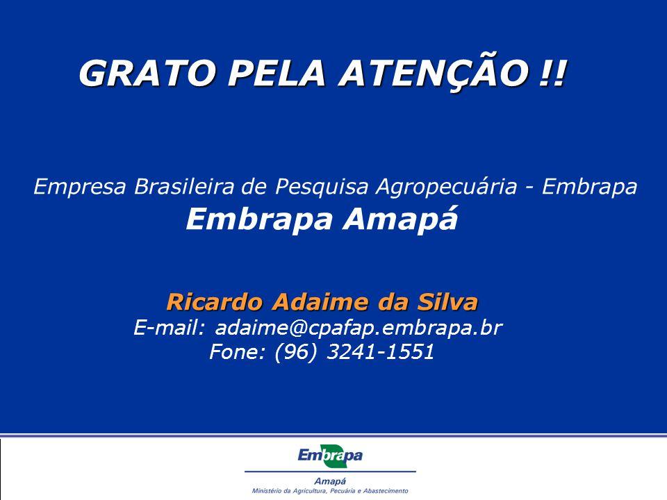 GRATO PELA ATENÇÃO !.