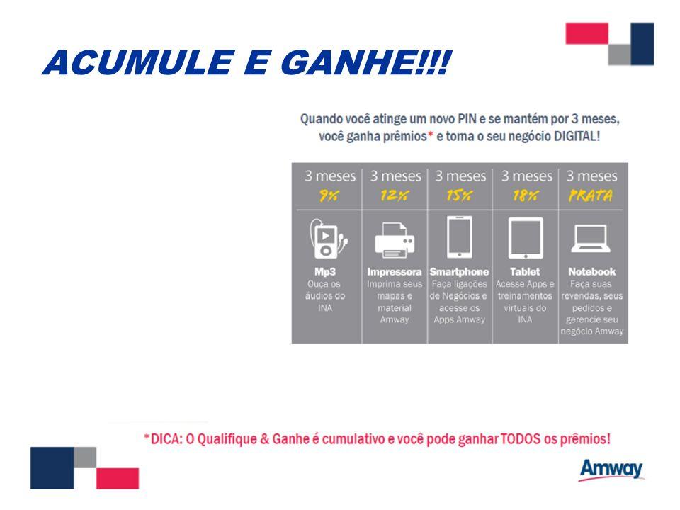 ACUMULE E GANHE!!!