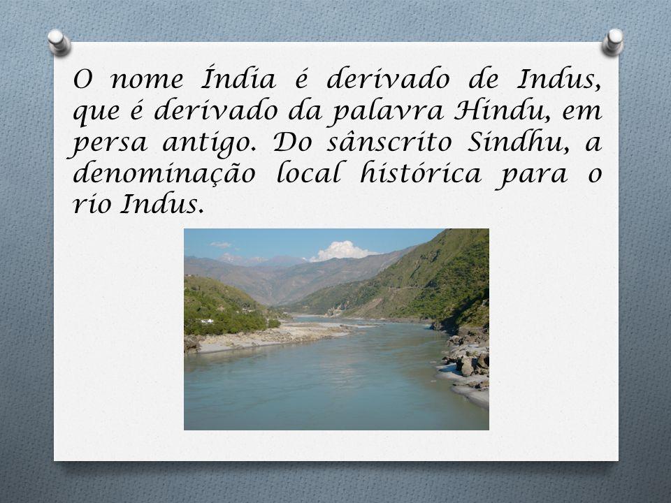  Os rios Indo e Ganges foram essenciais para o desenvolvimento da sociedade local.