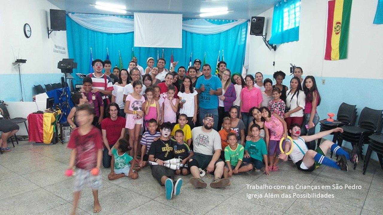 Trabalho com as Crianças em São Pedro Igreja Além das Possibilidades