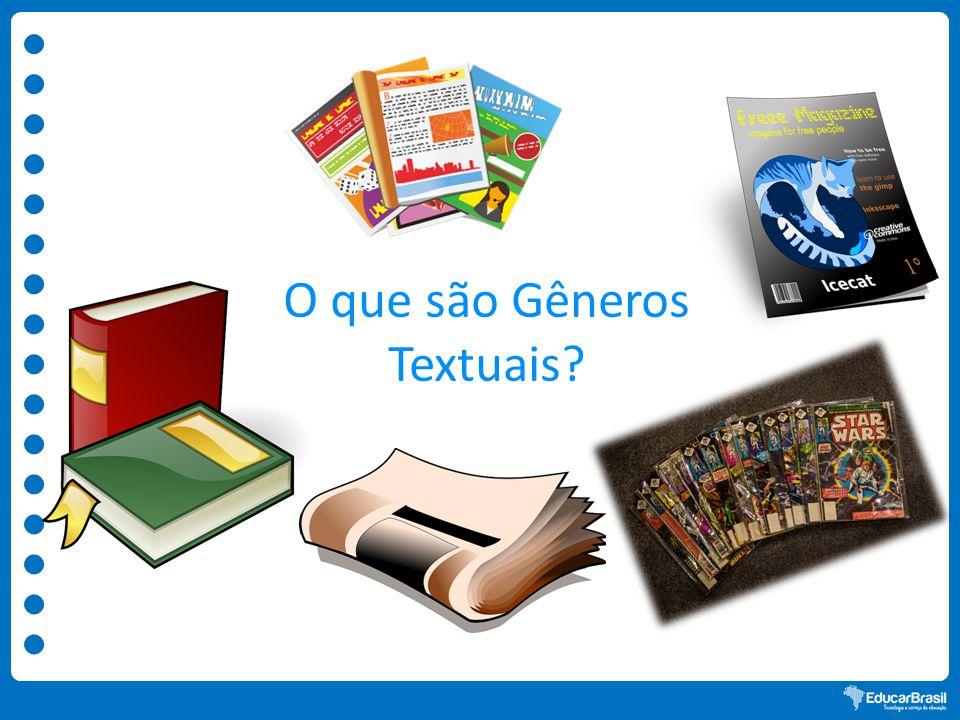 O que são Gêneros Textuais?