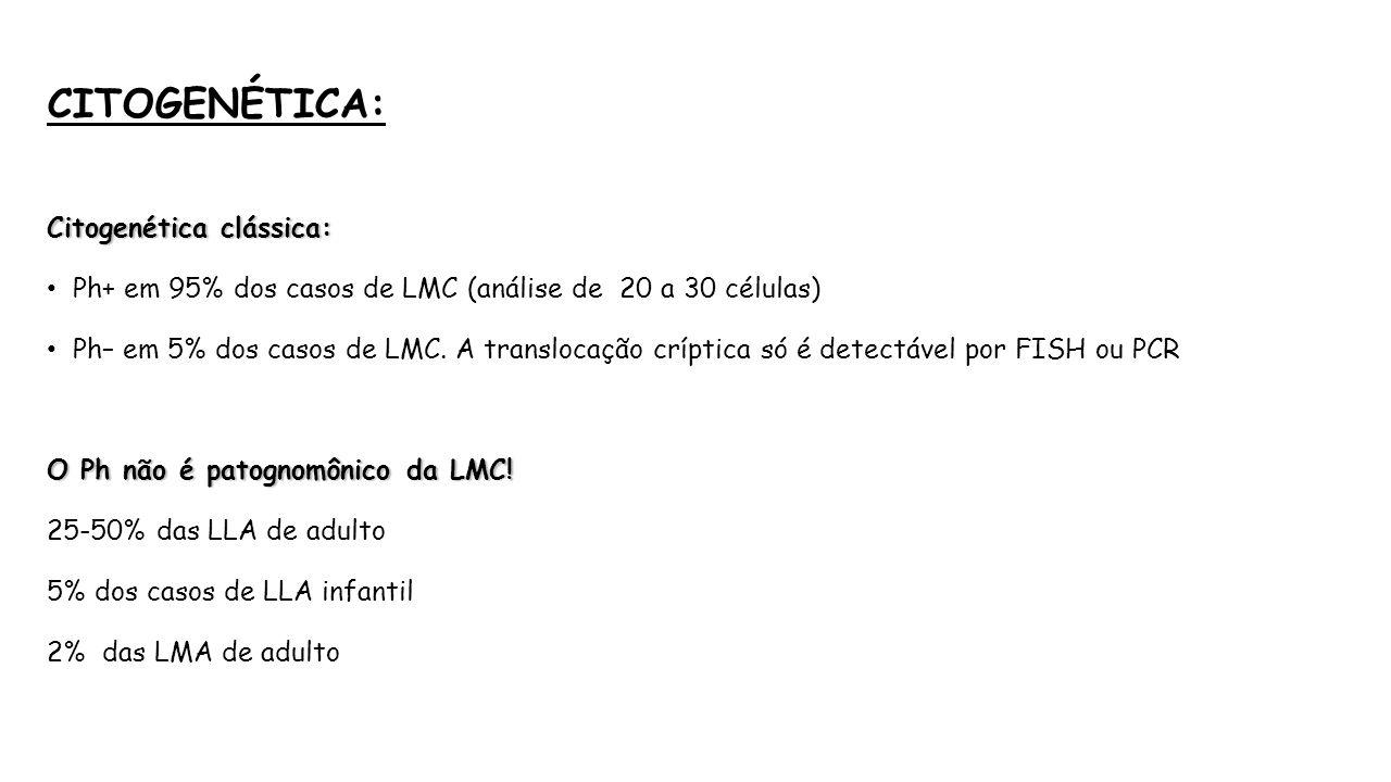 de citogenetica de leucemia mieloide: